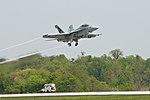 'Green Hornet' flight test on Earth Day 100422-N-ZZ999-004.jpg