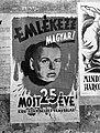 'Remember Hungarian!' poster by György Szennik, 1944 Hungary. Fortepan 72698.jpg