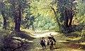 «Аллея в Альбано» Начало 19 века..jpg