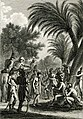« La clémence de Desaix 2» rendant la justice sous un palmier. Gravure de Vivant Denon parue dans Voyage dans la basse et la haute Égypte (1802).jpg