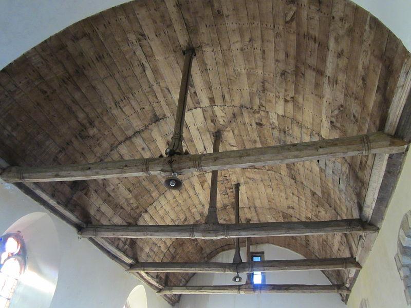 Voûtes de l'église Saint-Martin de Curey, fr:Pontorson