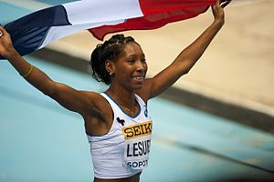 2005 World Youth Championships in Athletics - Éloyse Lesueur of France won her first major medal, a long jump silver, at these championships.