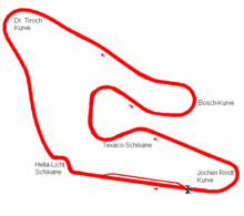 The Österreichring (last modified in 1977)