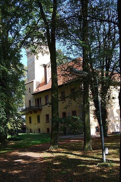 zámek Škvořetice