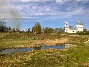 Shakhovskoy District - Village Belaya Kolp, Shakhovskoy District