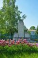 Братська могила воїнів Радянської Армії і пам'ятник воїнам-односельцям, село Житні Гори.jpg