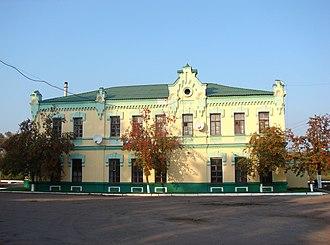 Krasnopillia - Railway station