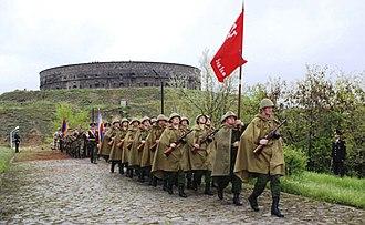 Nostalgia for the Soviet Union - Armenians celebrate the Soviet victory over Nazi Germany, 9 May 2018