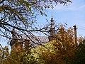 Жовква. Костел св. Йосафата, вигляд з вулиці Запорізької.jpg