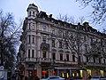 Одеса - Будинок житловий Раллі (ріг вулиць Рішельєвської, 5 та Дерибасівської, 9) P1050356.JPG