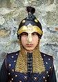 Сапар-çĕлĕк Воинский шлем суваро-булгар Суварский костюм Suvarská helma Suvar.jpg