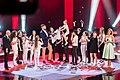 Участники команды Басты с наставником на финале Голос. Дети 5.jpg