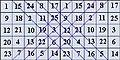 Համաանկյունագծային քառակուսու կոտրված անկյունագծեր.JPG