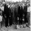 חגיגת הנחת אבן הפינה לבנין המשרדי הראשי של קרן היסוד בירושלים ( 1932) באי- כרחם -PHG-1001028.png