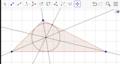 חוצי זוויות נפגשים במרכז המעגל החסום.png