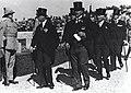ירושלים - חברי הועדה המלכותית בבית הקברות בהר הצופים ב11 בנובמבר 1936-JNF037071.jpeg