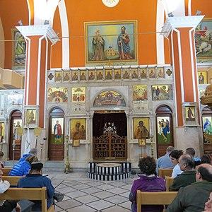 St. Peter & St. Paul Church, Shefa-Amr - Internal View