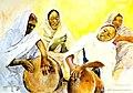 المراءة السودانية والفن القديم.jpg
