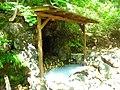 朝日温泉露天風呂(A natural hot spring) - panoramio.jpg