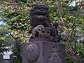 磐井神社の狛犬 東京都大田区にて 2012.9.22 - panoramio.jpg
