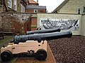 -2012-04-09 Two cannons, Nelson Museum Great Yarmouth, Norfolk.JPG