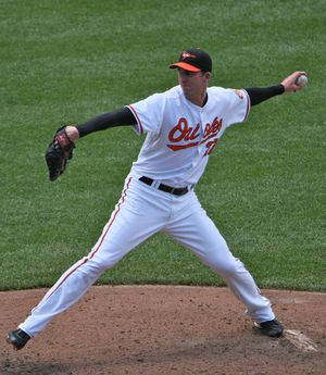 Mark Hendrickson - Hendrickson with the Baltimore Orioles in 2009