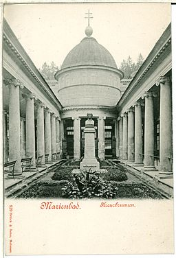 00929-Marienbad-1899-Kreuzbrunnen-Brück & Sohn Kunstverlag
