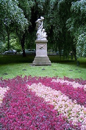 Planty Park - Grażyna Monument
