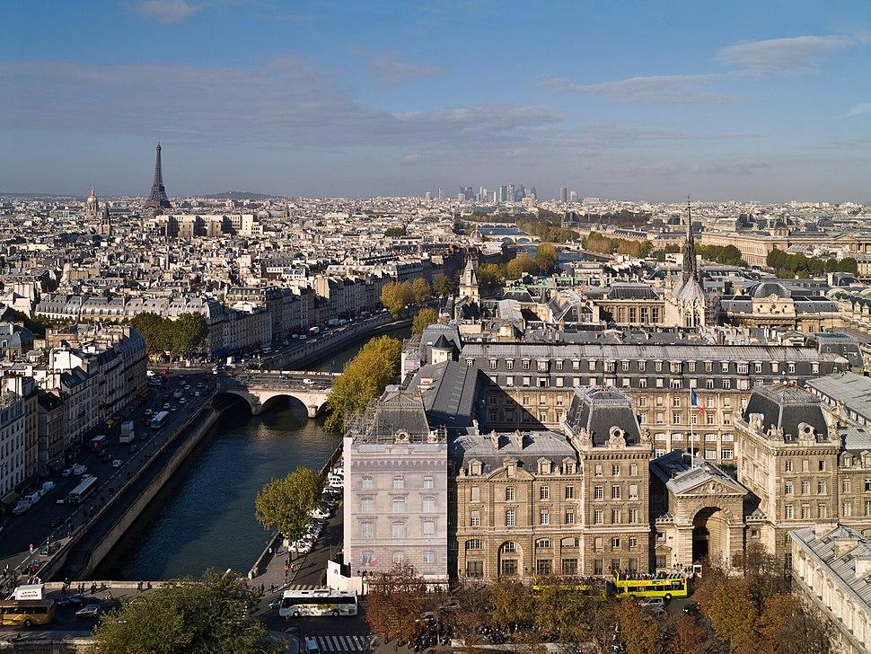 01 vue Paris depuis Notre-Dame