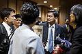 02-22 น. หลังจากนายกรัฐมนตรีเข้าร่วมฟังการอภิปรายไม่ - Flickr - Abhisit Vejjajiva.jpg