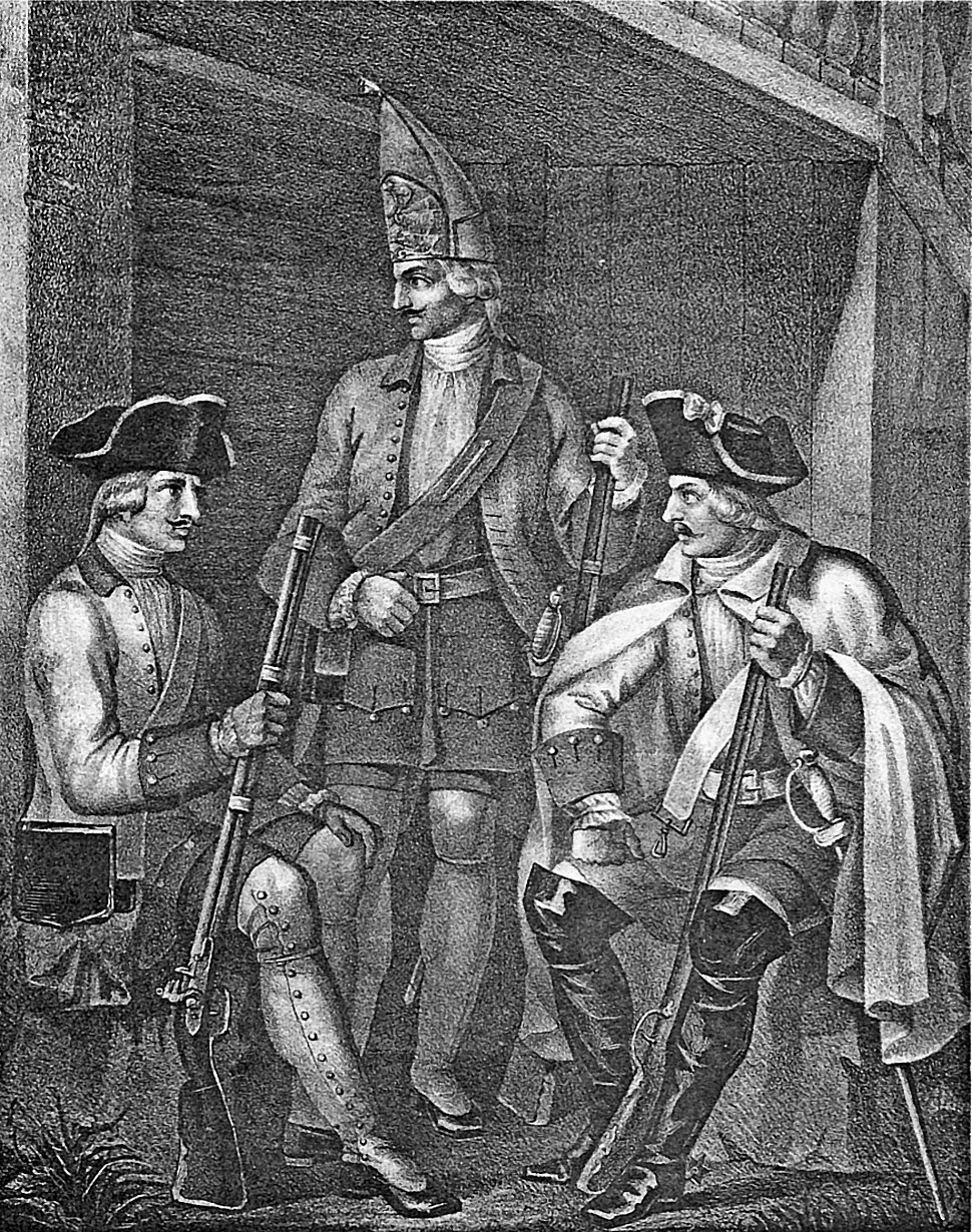 02 280 Book illustrations of Historical description of the clothes and weapons of Russian troops