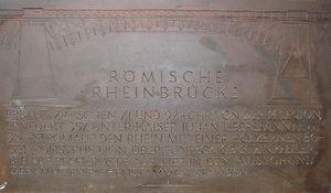 Römerbrücke (Pons Ingeniosa)