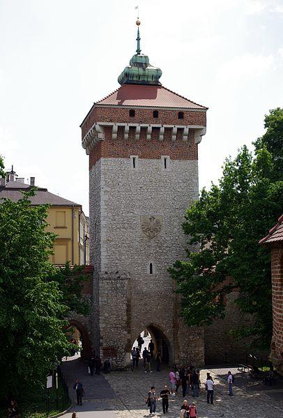 Brama Floriańska - St. Florian's Gate, Kraków