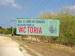 Playa Girón - Image: 04052016Playa Giron Propagande