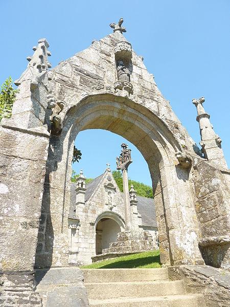 File 040 ch teaulin la porte de triomphe le calvaire et for Porte de la chapelle