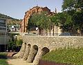 045 Viaducte de Bellesguard i convent del Redemptor.jpg