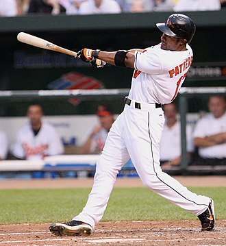Corey Patterson - Patterson batting for the Baltimore Orioles in 2007.