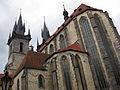 071 Església de la Mare de Déu de Týn, capçalera i torres.jpg