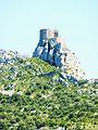 084 Pays cathare Le château de Queribus.JPG