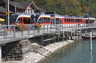 Brienz railway station railway station in the canton of Bern, Switzerland