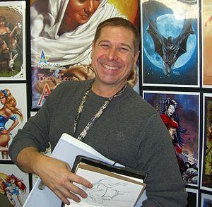 William Tucci - Tucci at the 2012 New York Comic-Con