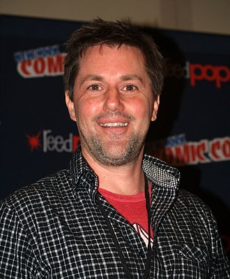 Chris Ryall - Ryall at the 2013 New York Comic Con