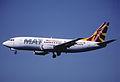 100be - MAT Macedonian Airlines Boeing 737-3H9; Z3-AAA@ZRH;22.07.2000 (5619169660).jpg