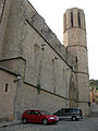 106 Santa Maria de Pedralbes, façana est i campanar.jpg