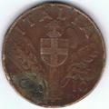10 Centesimi di Lira - Regno d'Italia - 1938 03.png