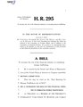 116th United States Congress H. R. 0000295 (1st session) - End Banking for Human Traffickers Act of 2019.pdf