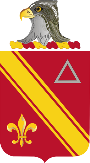 11th Coast Artillery (United States) - Coat of arms