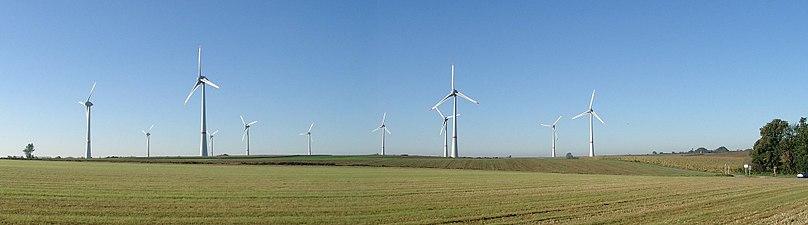 Dom i dag om varldens storsta vindkraftspark
