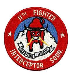 11th Fighter-Interceptor Squadron - Emblem
