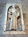 140 Monestir de Sant Cugat del Vallès, relleu de Sant Francesc.JPG